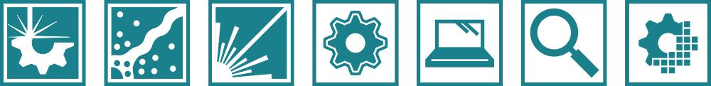 Hlavní obory NCK MATCA: Aditivní výroba, plazmatické technologie, lasery a optika, materiálový výzkum, pořítačové simulace, analytické metody a digitalizace.